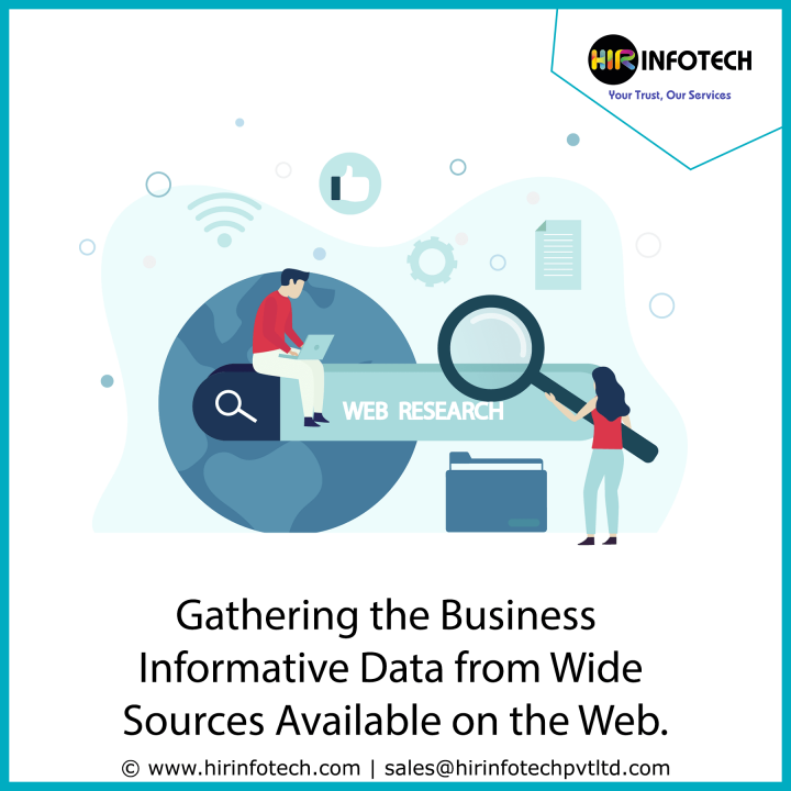 Gathering the Business Informative Data from Wide Sources Available on the Web.
