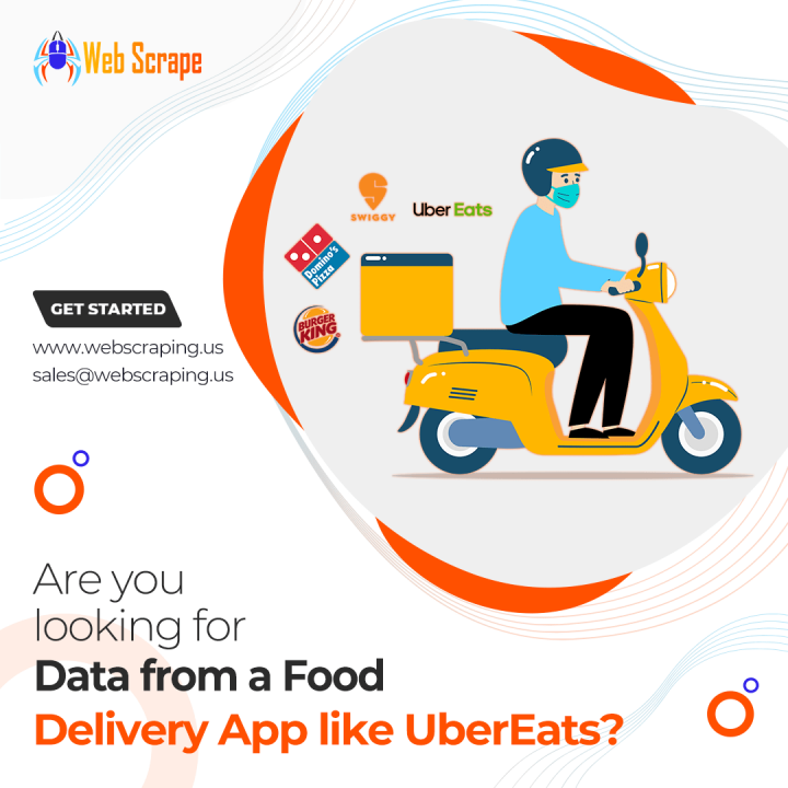 Are you looking for data from a food delivery app like UberEats?