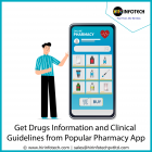 Get Drug information and Clinical Guidelines from popular pharmacy app