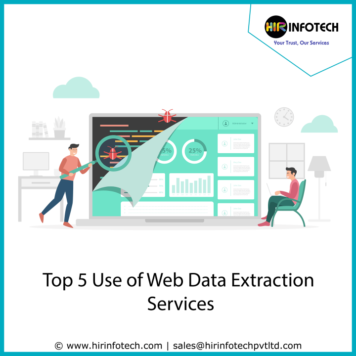 Top 5 use of Web Data Extraction Service