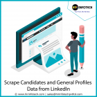 Scrape candidates and general profiles data from Linkedin