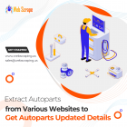 Extract Autoparts from various websites to get autoparts updated details