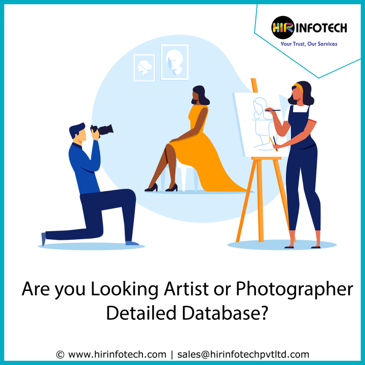 Artist and Photographer DataBase