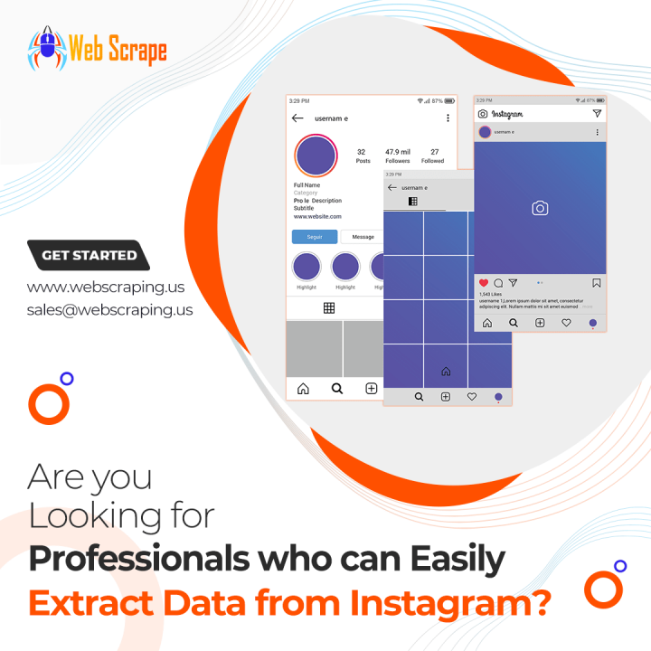 Are you looking for professionals who can easily extract data from Instagram?