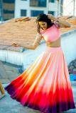 Crop Top Lehengas Collection @ Mirraw